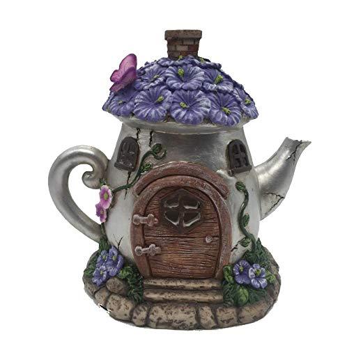 Casa de hadas iluminada., Tea Pot
