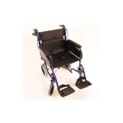 Silla de ruedas Modelo Alu Lite Invacare, ancho del asiento: 45 cm
