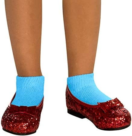 Rubies Wizard of Oz Dorothy Deluxe X-Small Shoes Max 62% OFF Sequin Child's Arlington Mall