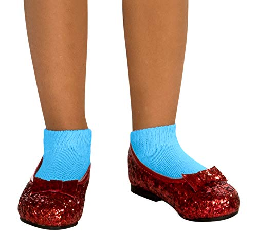 Rubies Wizard of Oz Dorothy Child s Deluxe Sequin Shoes  X-Small