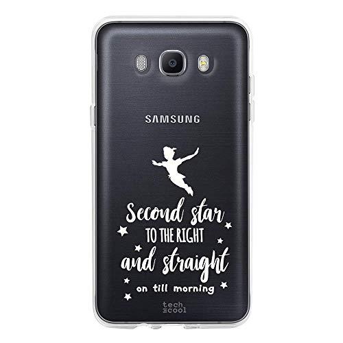 Gel Silicona Flexible, Dise/ño Exclusivo Funnytech/® Funda Silicona para Samsung Galaxy J7 2016 Frase Todo es Posible Transparente Rosa