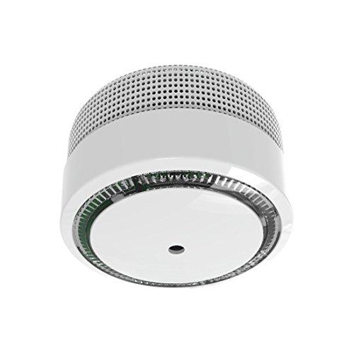 ELRO FS8010 Mini Rauchmelder-Kompakt Design-mit 10 Jahres Batterie-EN 14604, Weiß