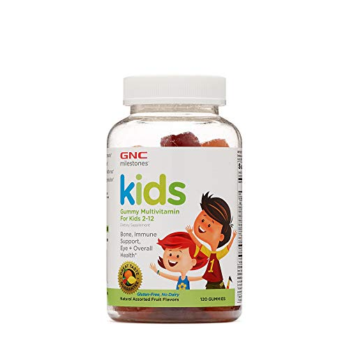 GNC Kids Multi Gummy, 120 Gummies, Bone, Immune Support, Eye and Overall Health