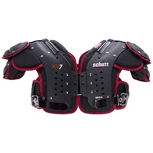 Schutt Sports XV7 Varsity Football Shoulder Pads, Large, Skill Positions