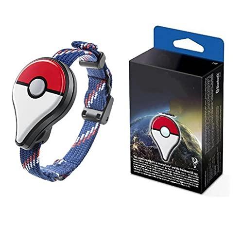 Anime Pokemon Go Plus Pulsera Bolsillo Auto Catch Bluetooth Interruptor De Banda De Carga Capturador Automático Fantasía Figura De Acción Juguetes Regalo