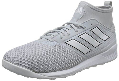 adidas Herren Ace Tango 17.3 TR Fußballschuhe, Grau (Clear Grey/Footwear White/core Black), 43 1/3 EU