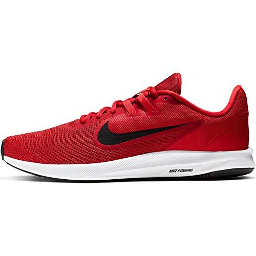 Nike Downshifter 9, Zapatillas de Running para Hombre, Rojo (Gym Red/Black/Univ Red/White 600), 41 EU