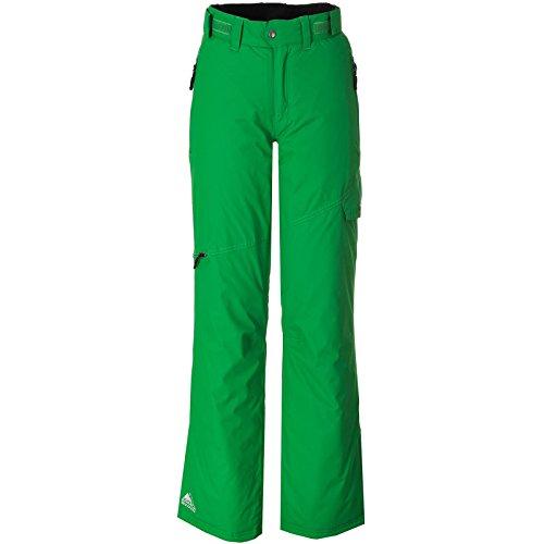 Cox Swain Damen 2-Lagen Snowboard-/ Skihose Lara 8.000mm Wassersäule - 5.000mm Atmungsaktivität, Colour: Green, Size: L