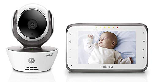 Motorola MBP854CONNECT Dual Mode Baby Monitor with 4.3-Inch LCD Parent Monitor and Wi-Fi Internet Viewing Monitors