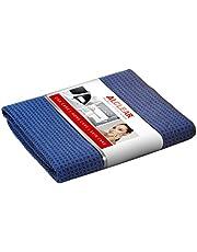 ALCLEAR Auto microvezeldoek droogwonder voor auto-onderhoud, autolak, motorfiets, keuken en huishouden, microvezel theedoek, zachte droogdoek, 60 x 40 cm, blauw