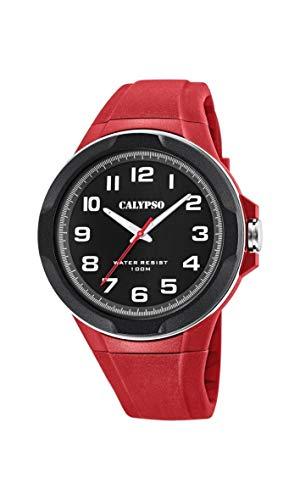 Calypso Watches Reloj Analógico para Hombre de Cuarzo con Correa en Plástico K5781/5