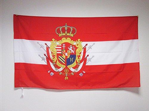 AZ FLAG Drapeau Grand-Duché de Toscane 90x60cm - Drapeau Italien Ancien - Italie 60 x 90 cm Fourreau pour hampe