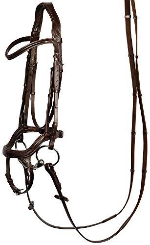 Harry's Horse Hoofdstel Anatomic, Farbe:braun, Größe:cob