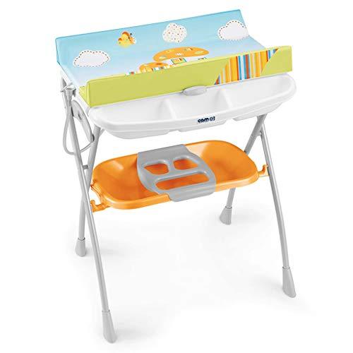 Praktische Babybadewanne Und Wickeltisch, Baby Windel Wickeltisch Wickeltisch Unisex Norme Weiß (Einheit Und Bad)