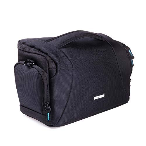 Bodyguard Fototasche für Spiegelreflexkameras : Kamera-Tasche für D-SLR Kamera bis zu 3 mittellange Objektive : für z.b. Canon EOS 70D 77D 80D 200D 1300D 700D 750D 760D 77D 800D