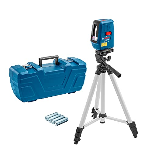 Nível Laser Bosch Nivelox alcance 15m com tripé e maleta