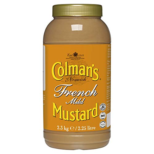 Colman's French Mild Mustard 2.25 Litre