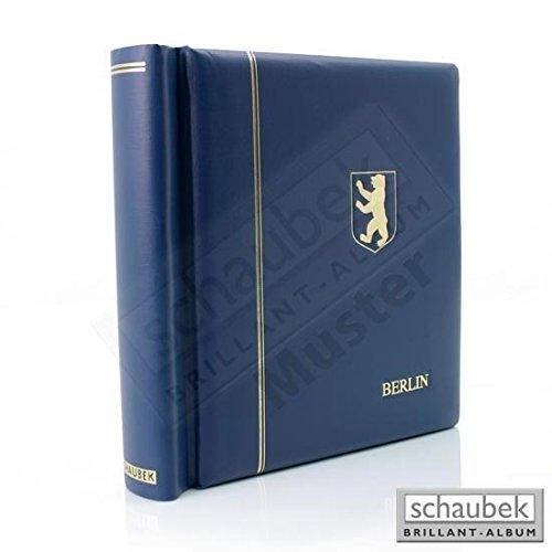 Schaubek Klemmbinder Deutschland blau mit Prägung Deutschland und Wappen (Reichsadler) mit Schutzkassette KODKP320