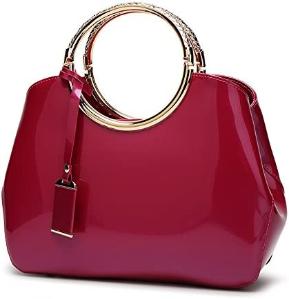 zyylppylw Shoulder Bags Women Handbags Ladi Patent Discount mail order Purse Now free shipping Leather