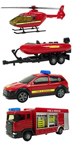 teama Conjunto de Juegos de vehículos de Emergencia policia