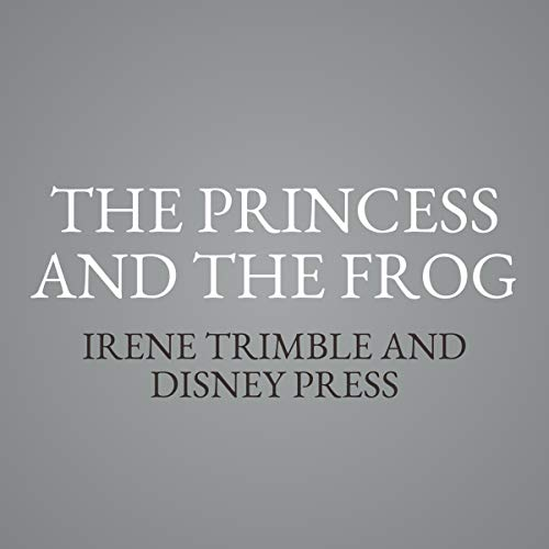 The Princess and the Frog audiobook cover art