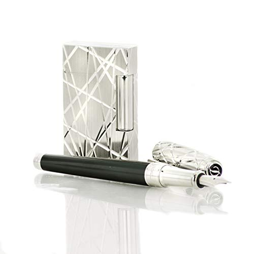 Fantastic Deal! S.T. Dupont Ligne 2 Goldsmith Palladium Lighter