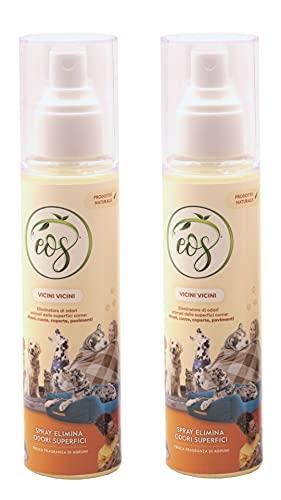EOS Vicini Vicini, Spray Naturale Elimina di Odori Animali, da SUPERFICI Come CUCCIE, LETTIERE.…