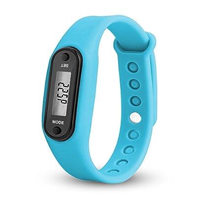 Amazon - Save 80%: Jesaisque Run Step Watch Bracelet Pedometer Calorie Counter Digital LCD Walk…