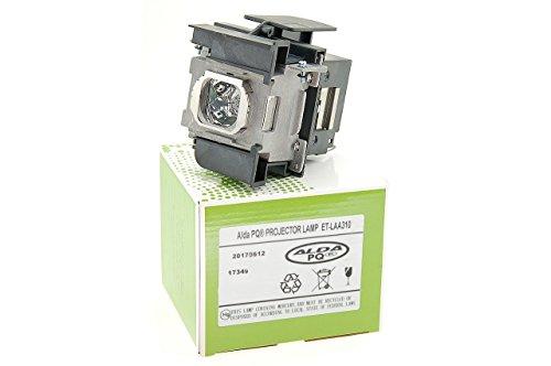 Alda PQ-Premium, Lámpara de proyector Compatible con ET-LAA310 para PANASONIC PT-AT5000, PT-AT5000U, PT-AT5000E, TH-AT5000, PT-AE7000U, TH-AE7000 Proyectores, lámpara con Carcasa