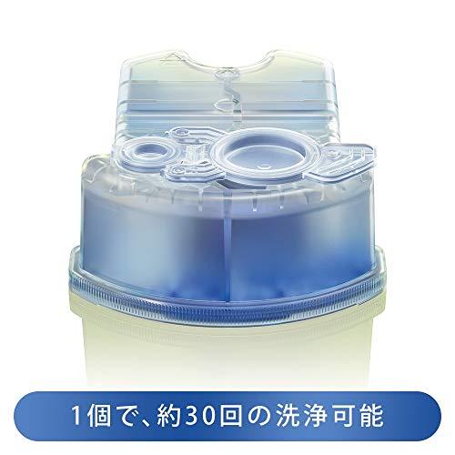 『【99.9%除菌】ブラウン アルコール洗浄液 (3個入) メンズシェーバー用 CCR3 CR[正規品]』の2枚目の画像