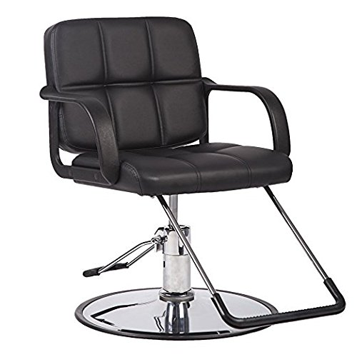 Hydraulic Salon Chair for Hair Cutting Styling Facial Waxing Makeup