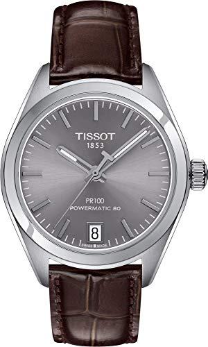 Tissot Damen-Uhren Analog Automatik, Gangreserve ca. 80 Std. One Size Leder 86948567