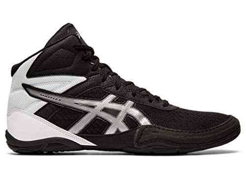 ASICS Men#039s Matflex 6 Wrestling Shoes 10M Black/Silver