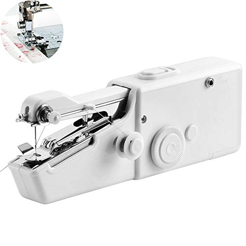 Why Choose WXJHA Portable Sewing Machine,Cordless Clothing Fabric Electrical Quick Stitch Sew Hand C...