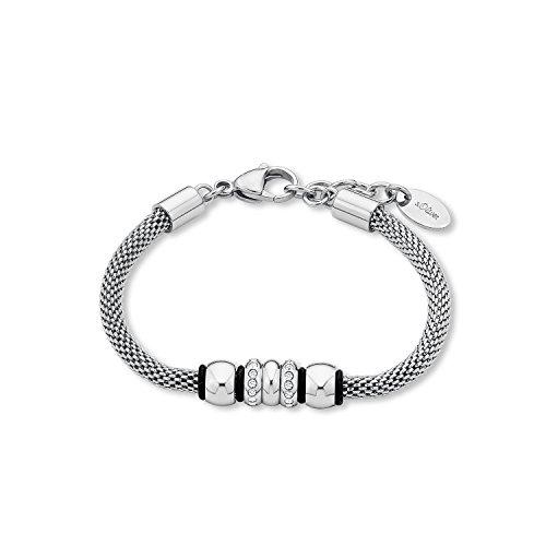 s.Oliver Armband für Damen, aus Edelstahl