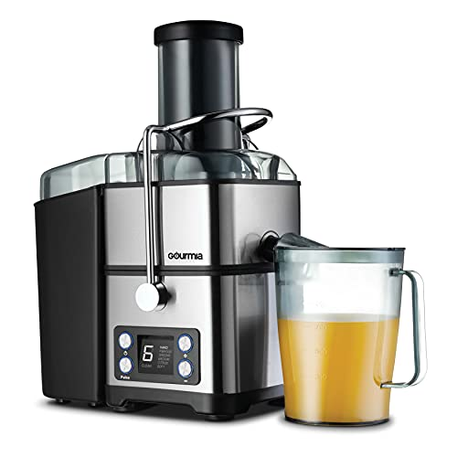 6-Speed Digital Wide Mouth Juicer with Self-Clean Cycle