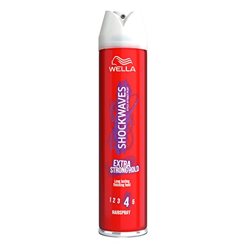 Shockwaves Extra Strong Hold Hair Spray, 400 ml