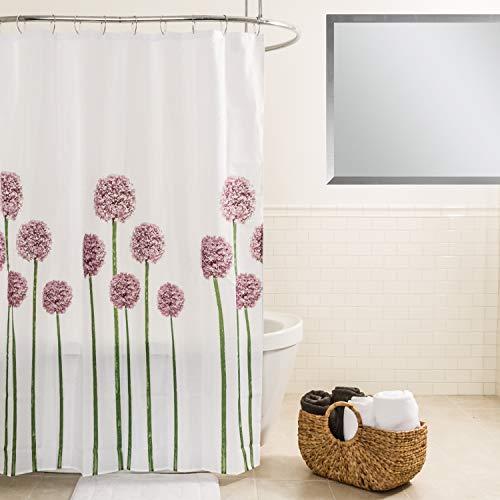 Splash Home Allium Duschvorhang, Polyester, 178 x 183 cm, Lavendel