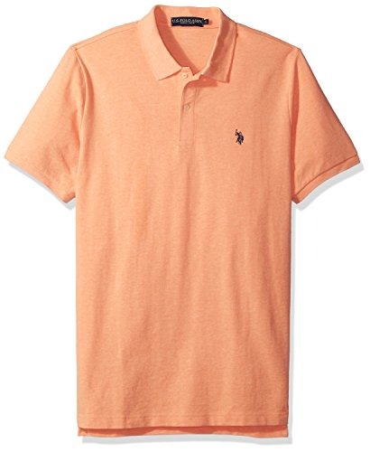U.S. Polo Assn. Men's Classic Polo Shirt, Sunrise Heather, L