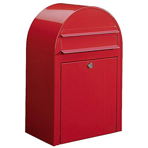 Bobi Classic Briefkasten RAL 3001 rot Wandbriefkasten
