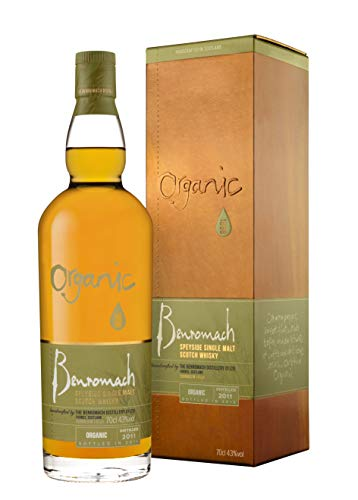 Benromach 2011 Organic Whisky Special Edition mit Geschenkverpackung (1 x 0.7 l)