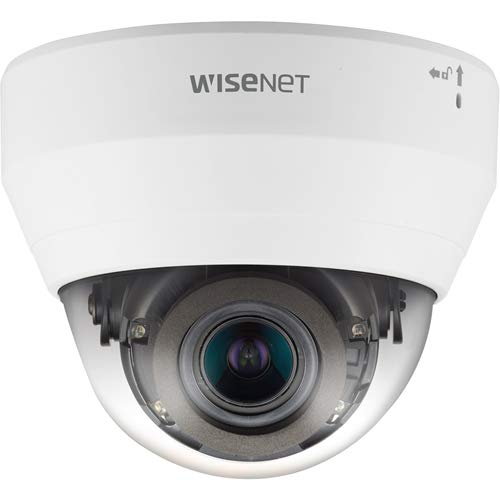 Wisenet QND-6082R 2 MP Network IR, Indoor Dome Camera with 3.2~10mm (3.1x) Motorized varifocal Lens, RJ45 Connection
