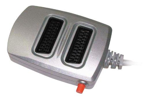 Vivanco SBX 2.1 2-fach A-/V-Scartschaltpult, 2 Geräten