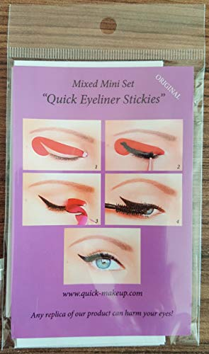 Quick Make-up Eyeliner Stickies MIXED SET, 32 Stück