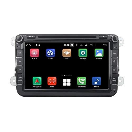 8 Pollici Touchscreen Lettore DVD Android 10.0 Autoradio per Volkswagen Golf 5(2004-2013), 4 GB RAM 64 GB ROM, Navigazione GPS DAB+ Radio Bluetooth