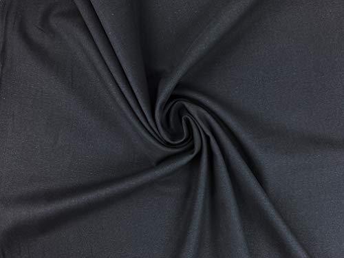 Diwitex OekoTex Baumwolle Uni leicht zu vernähen für Mundschutz, Deko Meterware 50cm (985)