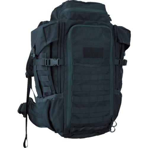 Eberlestock HalfTrack Military Pack w/Tunnel Pockets & D-Rings, Black by Eberlestock
