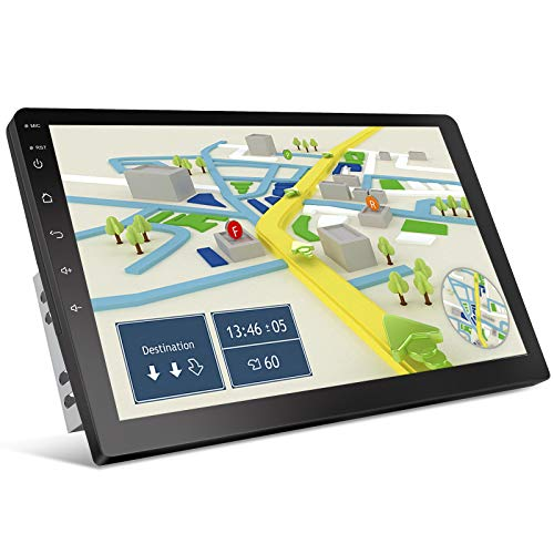 10.1InchTouch Screen HD Double Din Car Stereo Radio Receiver,KANAV MP5 Multimedia,Link(Android/iOS) Rear View Support GPS, Navigation WiFi Bluetooth Radio,Rear View Camera Dual Link [2G+32G]