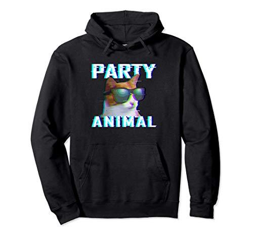 Party Animal | EDM Rave | Electro Dubstep Hardstyle Sudadera con Capucha