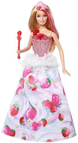 Barbie - Princesa Destellos Dulces (Mattel DYX28) , Modelos/colores Surtidos, 1 Unidad